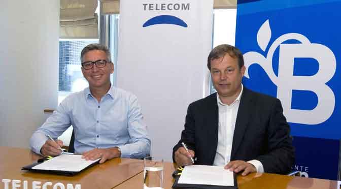 Telecom anuncia inversiones en Almirante Brown por 200 millones de pesos