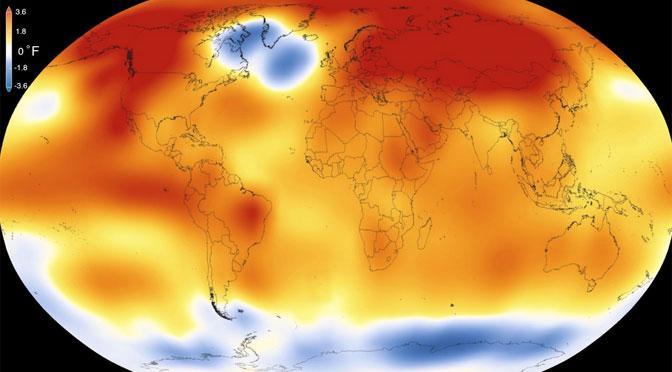 2018 fue el cuarto año más cálido del que se tenga registro