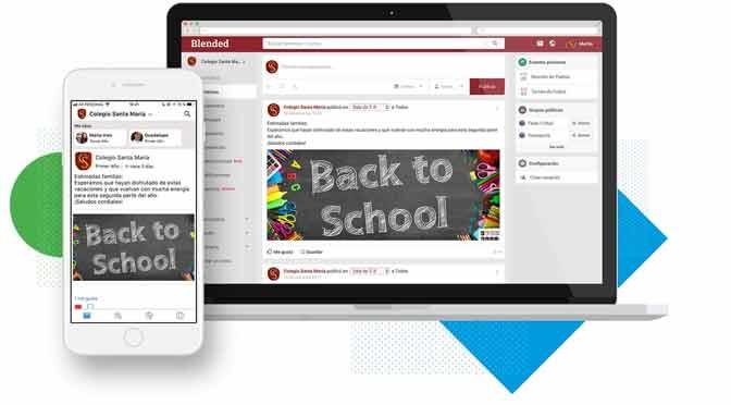 Movistar Negocios lanza plataforma móvil que conecta a la comunidad escolar