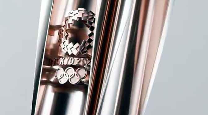 Así es la antorcha de los Juegos Olímpicos de Tokio 2020