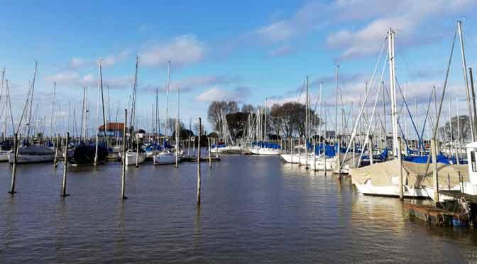 El puerto de Olivos, la puerta de Vicente López al río de la Plata