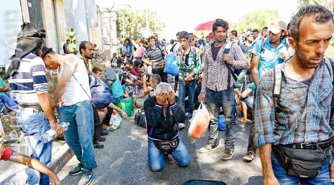 Drama de los refugiados en el mundo afecta a 70 millones de personas