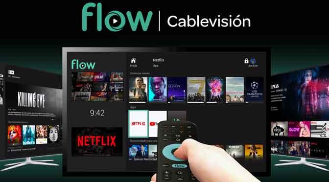 Netflix se integra a la plataforma de Cablevisión Flow