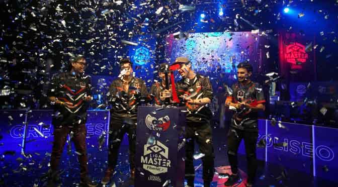 Cream Esports ganó la Liga Máster Fibertel