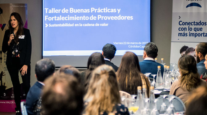 Telecom realizó en Córdoba taller para sus proveedores