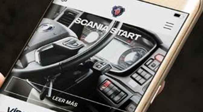 Scania lanza aplicación para conocer la nueva generación de camiones