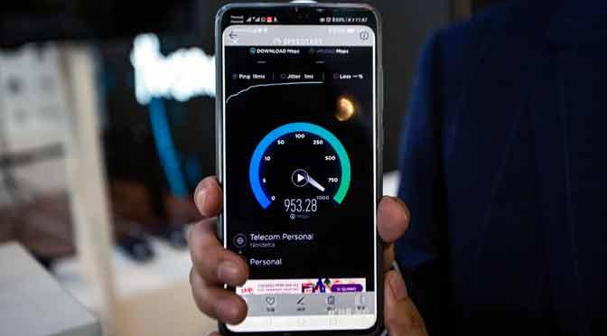 5G: Personal y Huawei realizaron demostración pública en Buenos Aires