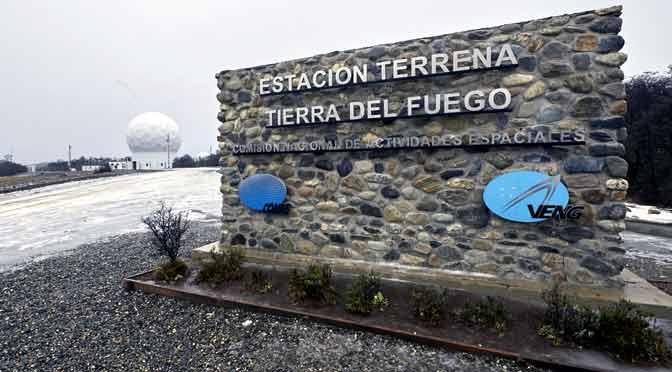 Nueva estación terrena permite comunicaciones satelitales en Tierra del Fuego