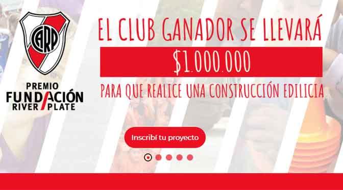 La Fundación River lanza concurso para clubes y organizaciones sociales