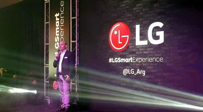 LG apunta a encabezar en 2020 el mercado premium de la Argentina