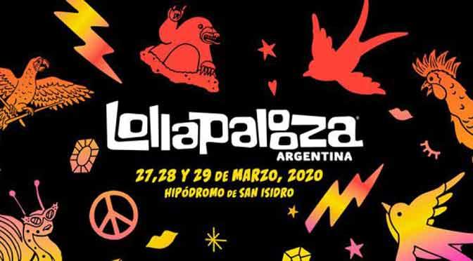 ¿Cuáles son los grupos y artistas de Lollapalooza Argentina 2020?
