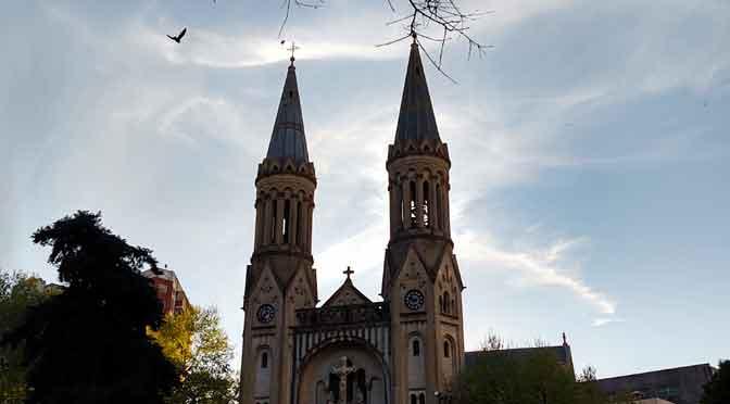 Un templo, el corazón de Palermo Espíritu Santo o Palermo Guadalupe