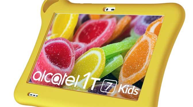 Alcatel lanza Tkee mini, tableta para niños con límites de tiempo de uso