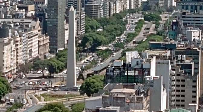 Buenos Aires desde las oficinas de J.P. Morgan