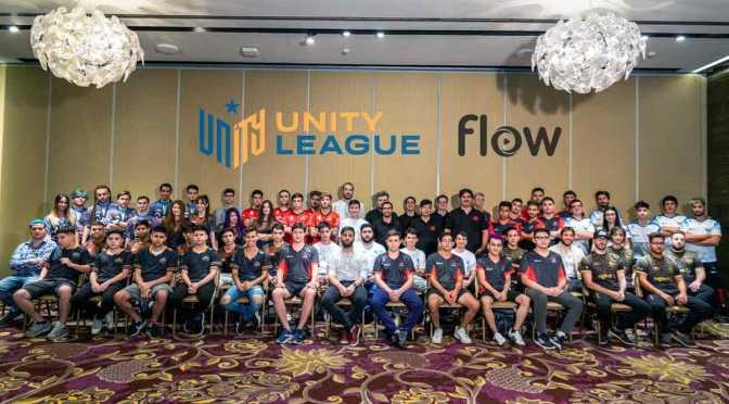 La Liga de Videojuegos Profesionales y Flow presentaron la Unity League Flow