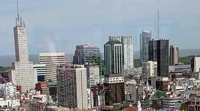 Panorámica de Buenos Aires desde la torre Bellini