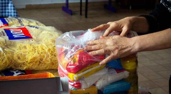 «Hora de obrar» entregó alimentos y productos de higiene a 1.000 familias