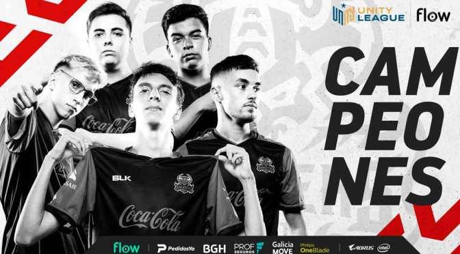 Sinisters ganó la Unity League Flow Apertura