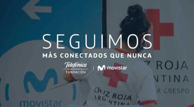Fundación Telefónica donó $25 millones a la Cruz Roja Argentina