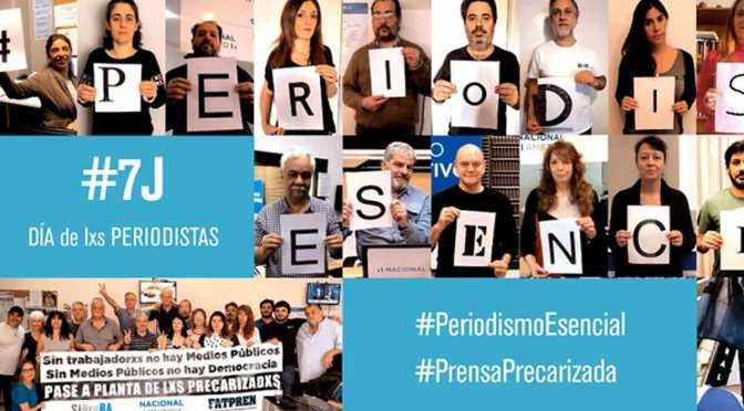 No hay #PeriodismoEsencial con #PrensaPrecarizada