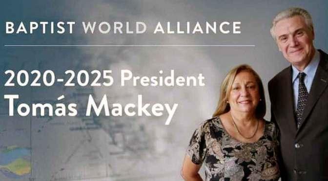 Tomás Mackey, nuevo presidente de la Alianza Mundial Bautista
