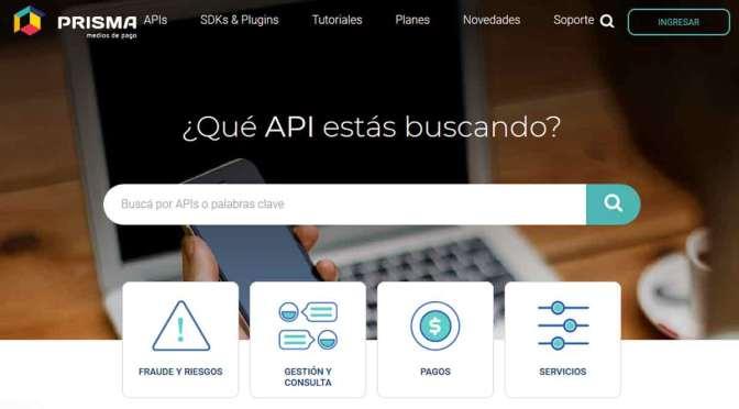 Prisma Medios de Pago lanza su portal de API