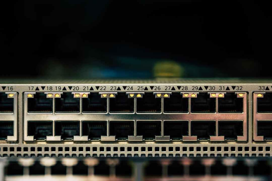 close up photo of computer port