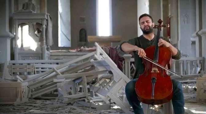 La vida vuelve a la iglesia icónica de Artsaj, atacada por Azerbaiyán