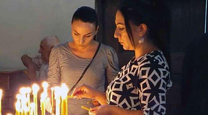 Acto ecuménico por paz en Artsaj y Armenia, en la catedral de Buenos Aires