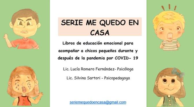 Nodo solidario: Serie de libros para niños «Me quedo en casa»