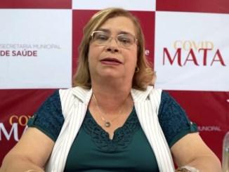 Secretária de Saúde de Madre de Deus, Stela Souza