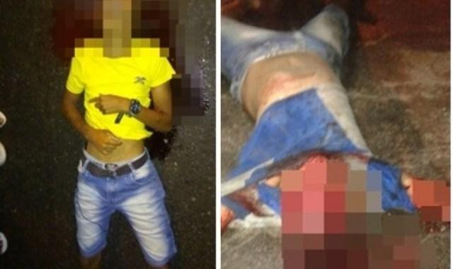 Resultado de imagem para Dois acusados de assalto são mortos