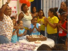 Aniversariantes do mês - monthly birthday celebration