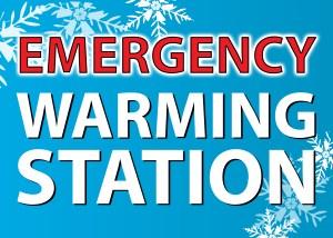 Emergency warming station