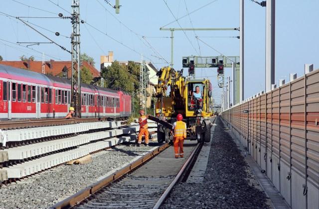 Symbolbild: Gleisbauarbeiten auf dem Streckennetz der Deutschen Bahn. (Foto: © DB AG)