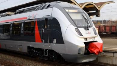Ein Zug des Eisenbahnverkehrsunternehmens Abellio: Elektrotriebzug vom Typ Talent 2. (Foto: © Bahnblogstelle)