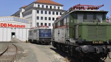 Historische Lokomotiven im Nürnberger DB Museum. (Foto: © DB Museum Nürnberg)