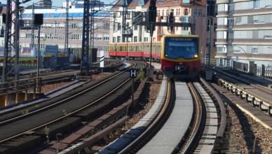 S-Bahn-Zug auf dem Berliner Stadtbahn-Netz. (Foto: © Bahnblogstelle)