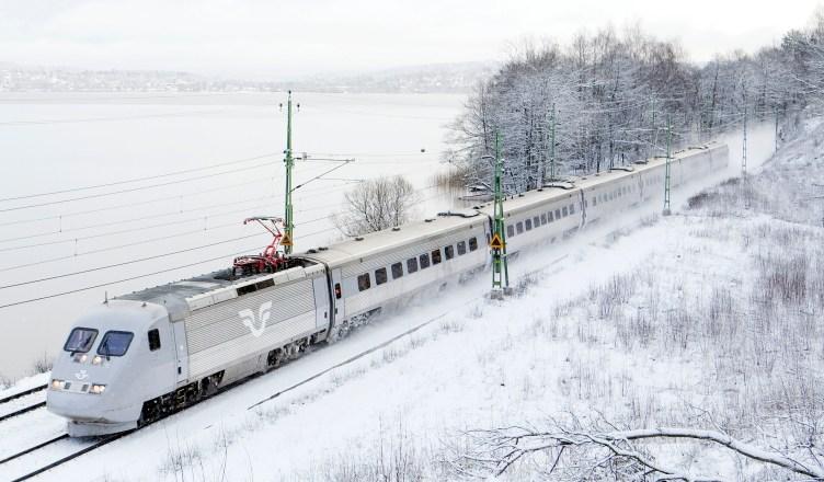 Baureihe SJ X2: Hochgeschwindigkeitszug der schwedischen Staatsbahngesellschaft SJ AB (Foto: © Kasper Dudzik)