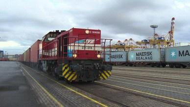 Die meisten Güter in Deutschland werden per LKW transportiert, nur 17 Prozent auf der Schiene. (Foto: © SWR)