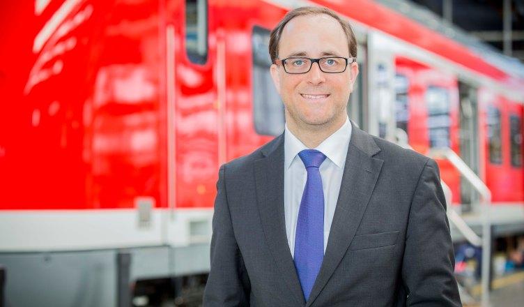 Germar Wacker, Vorsitzender der Geschäftsführung Bombardier Transportation. (Foto: © Bombardier)