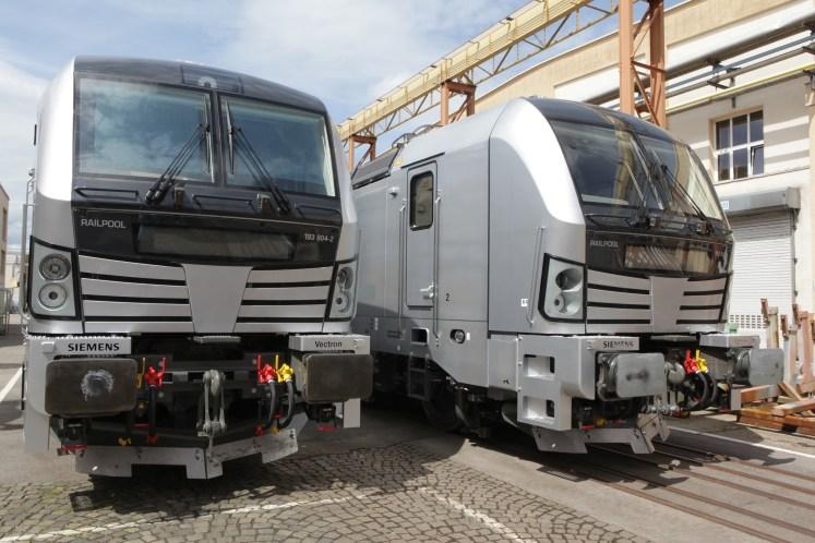 Railpool bestellt fünf weitere Lokomotiven vom Typ Vectron AC. (Foto: © Siemens)