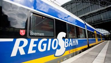 Symbolbild: Eine Regio-S-Bahn der NordWestBahn. (Foto: © NordWestBahn / Holger Jacoby)