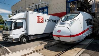 ICE 3 Velaro D, LKW DB Schenker