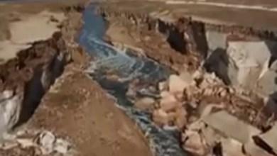 """Photo of بالفيديو .. """"نهر سرّي"""" بطول 10 كلم قرب البحر الميت .. ولهذا السبب جرى التعتيم عليه"""
