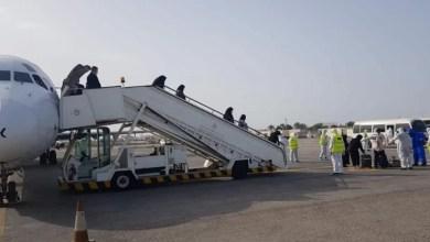 Photo of «الصحة»: وصول الطائرة المؤجرة التي تقل مجموعة من المواطنين المتواجدين في إيران ضمن خطة الإجلاء