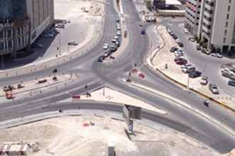 Juffair Ring Road Project 65% complete !