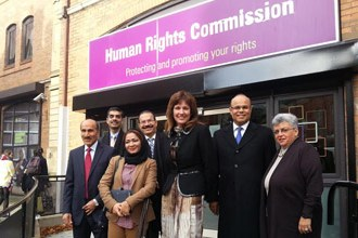 NIHR delegation participates in workshop