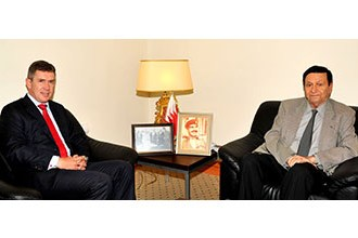 HM King's Economic Advisor receives top HSBC official