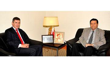 HM King's Economic Advisor receives top HSBC official